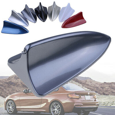 Universal Car Grey Shark Fin Decorative Dummy Roof Antenna Aerial for BMW ABS