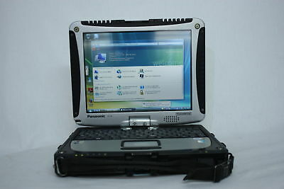 RUGGED Laptop Panasonic Toughbook CF-19 MK3 Dual Core 128GB SSD WINDOWS 10
