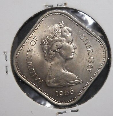 Guernsey 1966 William I - Norman Conquest 10 Shilling  Coin B/ UNC