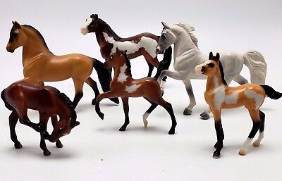 Breyer Reeves Horse Lot of 6 Mixed Sizes
