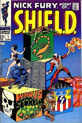 Nick Fury Agent of Shield & Ghost Rider 300 issues & 100's of extras on disc,