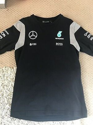 Mens Hugo Boss Mercedes AMG Petronas Tshirt Size Small