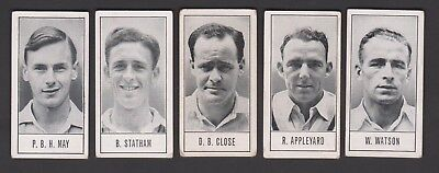 1956/57 Barratt Test Cricketers - Complete Your Set, Select The Cards You Need
