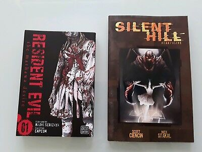 Graphic Novels RESIDENT EVIL Marhawa Desire & SILENT HILL Dead/Alive
