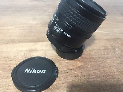 Nikon  micro nikkor AF 60mm f2.8 D Macro in great condition