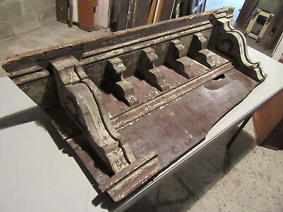 ~ 6 Victorian Antique Corbels ~ Soffit Wall Shelf ~ Architectural Salvage