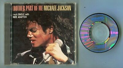 Michael Jackson 3-INCH Maxi-CD ANOTHER PART OF ME remix Cardsleeve cut 652844 3
