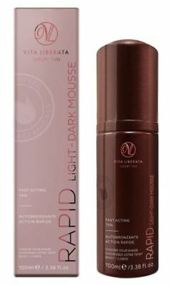 VITA LIBERATA LUXURY TAN RAPID'LIGHT TO DARK MOUSSE 100ml