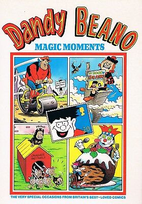 Dandy & Beano: Magic Moments: New British Hardcover Book 1993: D.c.thomson