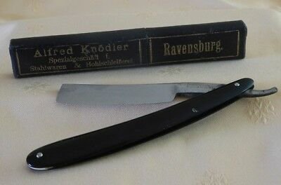 "Rasiermesser G. JOHNSON SHEFFIELD ENGLAND, ca. 19mm 6/8"" vintage"