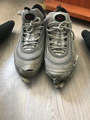 more photos 215fa 0ed24 Nike Air Max 97 Silver Well Worn Trashed Destroy Used
