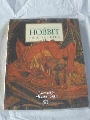 The Hobbit by J. R. R. Tolkien (Paperback, 1987) 50th Anniversary SEALED