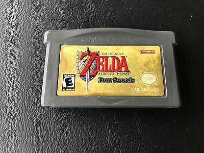 Legend of Zelda: A Link to the Past (Nintendo Game Boy Advance, 2002)- No Box
