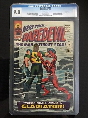 Daredevil #18, 7/66, CGC 9.0, U.K.Edition
