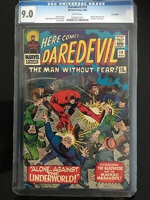 Daredevil #19, 8/66, CGC 9.0, U.K.Edition