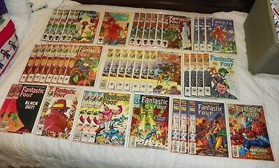 Fantastic Four Lot of 45 Marvel Comics 1986 to 1999 Great re-sale lot FN to NM