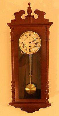 Beautiful HERMLE Wooden Westminster Chime Wall Clock