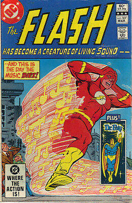 Flash #307 March 1982 VG Dr Fate back up story DC Comics
