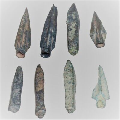 Excellent Collection Of Ancient Roman Arrowheads(8), War Relics