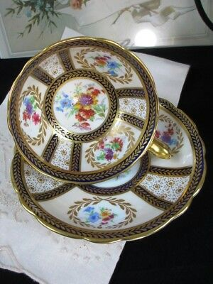 1920s Paragon Signed Reproduction of Service for Queen Mary Cup Saucer #8902