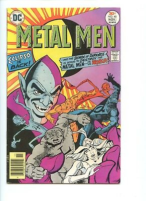 Metal Men #48, DC comics, Oct.-Nov. 1976 walt simonson art/plotting
