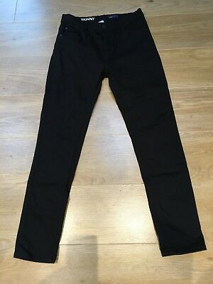 Boys Black Next Skinny Jeans, Age 16, Excellent Condition!