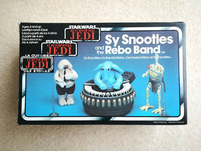 Star Wars ROTJ Classic Action Figures Sy Snootles and the Rebo Band Kenner MIMB
