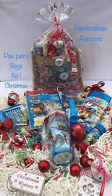 Paw Patrol, Boys & Girls,Childrens Christmas character gift Hampers,