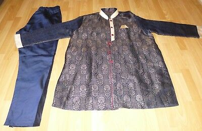 Indian/Asian Men's Sherwani Suit - Chest 54 inches