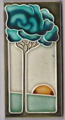 Dtag Jugendstil Fliese Art Nouveau Tile  Carrelage Tegel