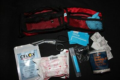 FIrst Aid Kit Woodland Injury Self Help Personal