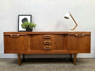 Vintage 60s Stonehill Teak Sideboard. Danish Retro G Plan DELIVERY AVAILABLE
