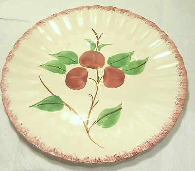 Cherry Bounce Dinner Plate Blue Ridge Southern Pottery