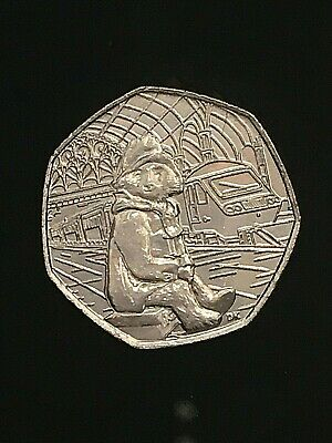 2018 Paddington Bear at the station OR the palace 50p OR both, genuine UK coins