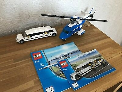 Lego City Helicopter Surveillance 60046 100 Complete Including