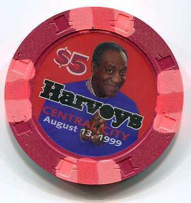 Casino Chip $5 Harveys Central City, CO Bill Cosby