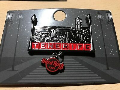 Hard Rock Cafe Tenerife City Block Series pin - 2018 Limited Edition 300