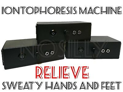 Iontophoresis Machine - For Sweaty Hands and Feet - DIY Hyperhidrosis - w/BVI