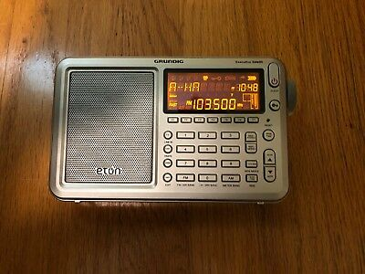 Eton Grundig Executive Satellite AM/FM/Aircraft/SSB/Shortwave Radio with RDS