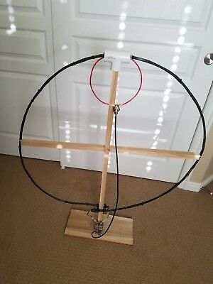 Homemade Magnetic Loop Antenna 7-26 MHz