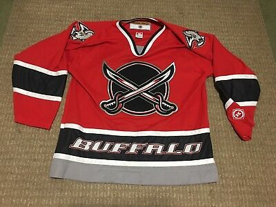 official photos 2ae4c 8b914 VINTAGE KOHO BUFFALO Sabres Blank Red Alternate Swords Jersey Hockey NHL