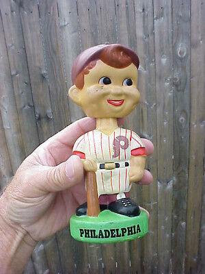 Vintage ** Philadelphia Phillies ** Baseball Player ** Bobble / Head Nodder  7""