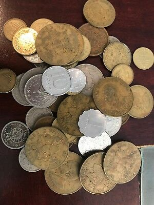 Small Lot Of Older Date Foreign Coins Very Nice Mix Lot#3