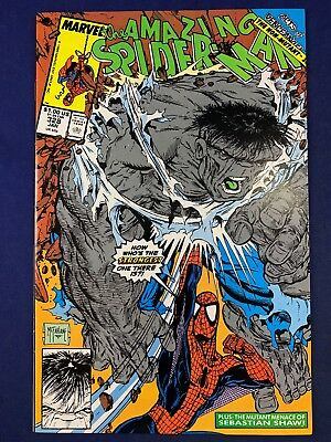 Amazing Spider-Man #328 Marvel Comics appearance Todd McFarlane Cover