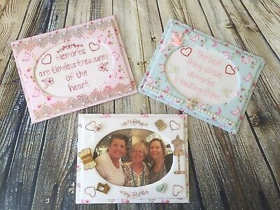 Embroidered Photo Frame Kit - Includes 2 X Frames & Pattern
