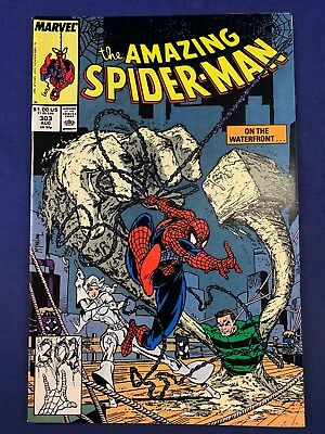Amazing Spider-Man #303 Marvel Comics Sandman appearance Todd McFarlane Cover