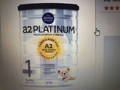 A2 Platinum Premium Infant Formula Stage 1