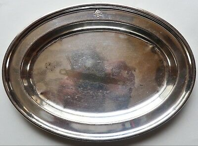 Vintage Walker and Hall Sheffield Cutlery Silver Plate Tray Hard and Silver