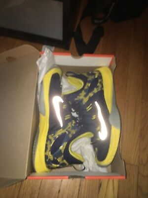 new styles e60bc e01f1 nike zoom hyperrev 2015 Paul George U.S Size 12 Yellow Pacers