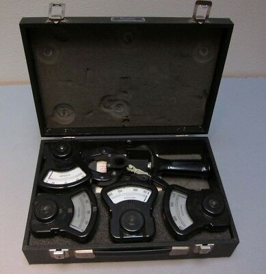 Columbia Electric Tong Clip-on Ammeter Set